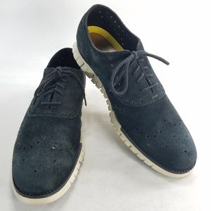 Cole Haan Zero Grand OS Leather Suede Oxfords